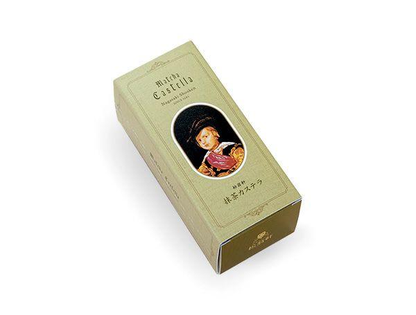 松翁軒 抹茶カステラ 0.3号・1本
