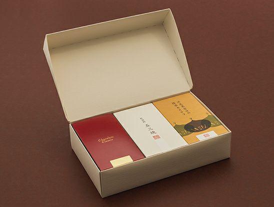 五三焼カステラ・渋皮栗寄せ抹茶カステラ・チョコラーテクラシック(半棹3本入)