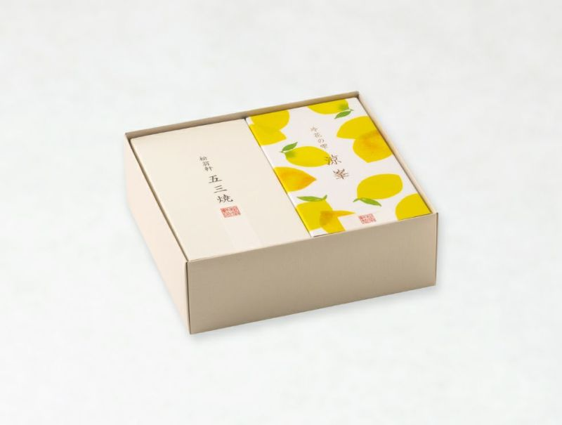 冷花の雫 涼峯(レモンカステラ)